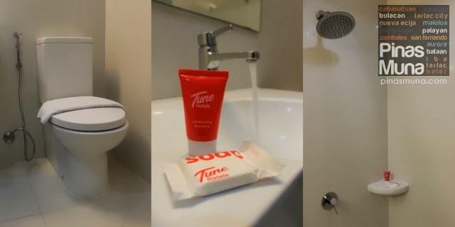 Tune Hotel Angeles City Private Bathroom