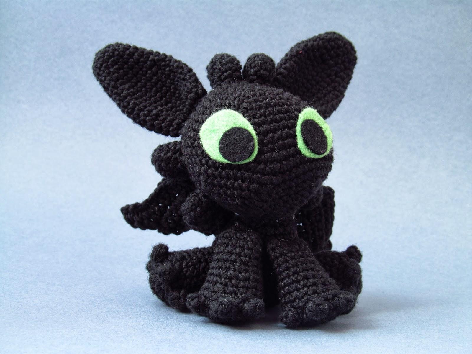 Toothless - Cómo entrenar a tu dragón   Tezukuri