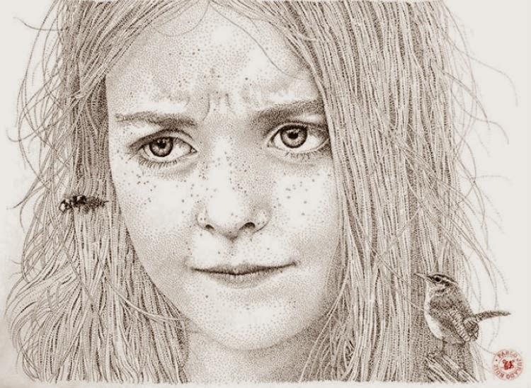 Cool dark drawings drawings by spanish artist
