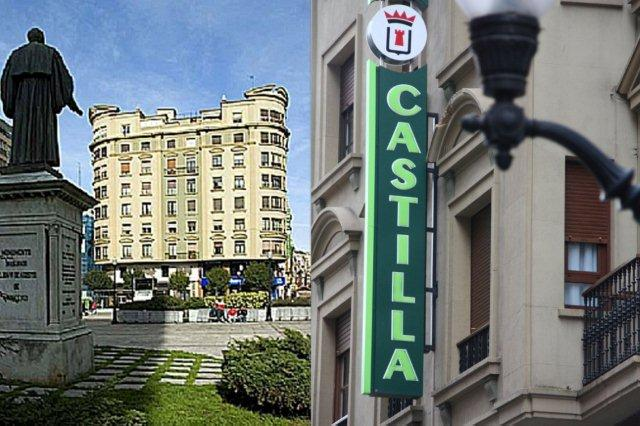 Hotel Castilla en la Calle Corrida, Gijon