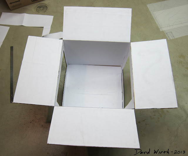 easy to make white box, light box photography