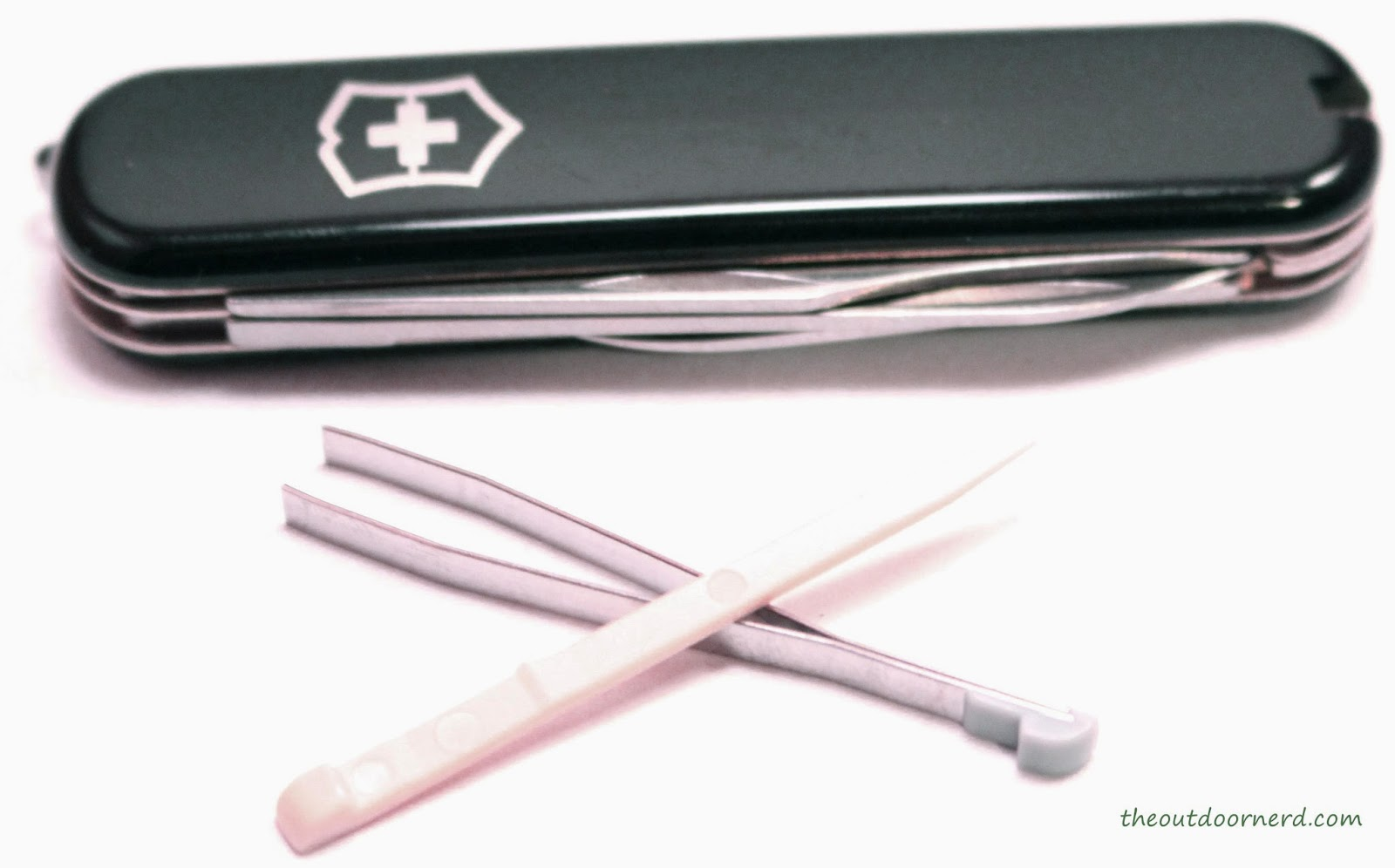 Victorinox Executive Multi-Tool Showing Tweezers and Toothpick