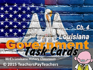 https://www.teacherspayteachers.com/Product/LOUISIANA-Ch4-Government-Task-Cards-2189751