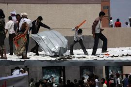 Protestos nas embaixadas dos EUA