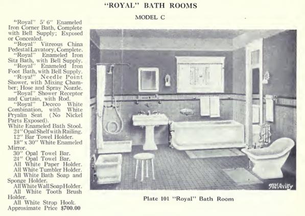 1920s Bungalow Bathroom besides  on master bathroom floor plans 7x14
