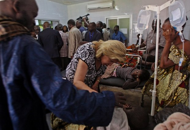 distraught parents search hospitals and morgues for missing children