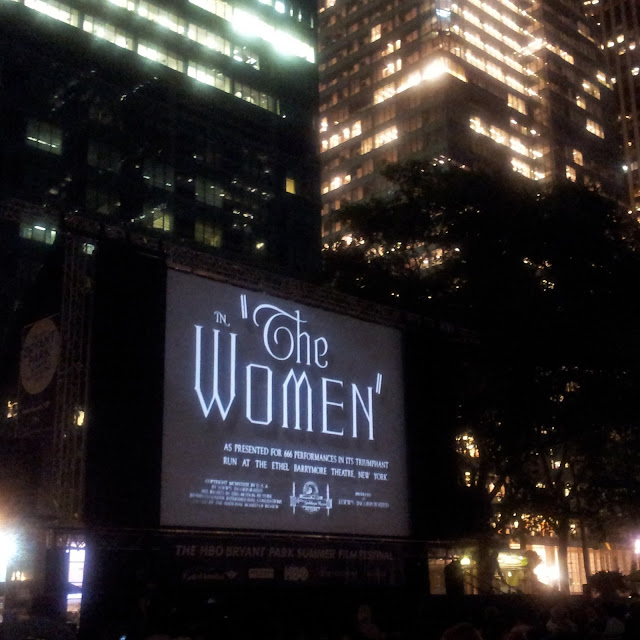 The Women in Bryant Park My View Bobbins And Bombshells
