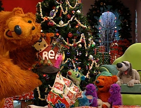 a much deeper level a big blue home for christmas - Bear Inthe Big Blue House Christmas