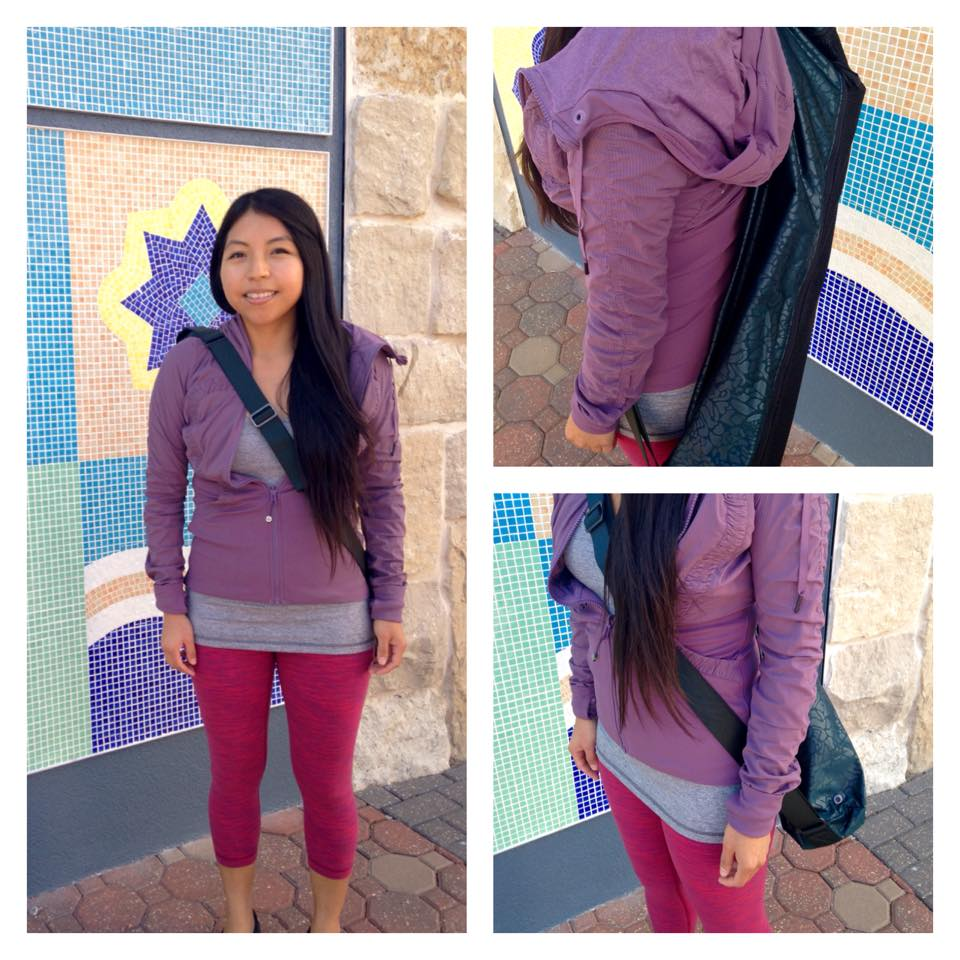 lululemon purple fog studio jacket