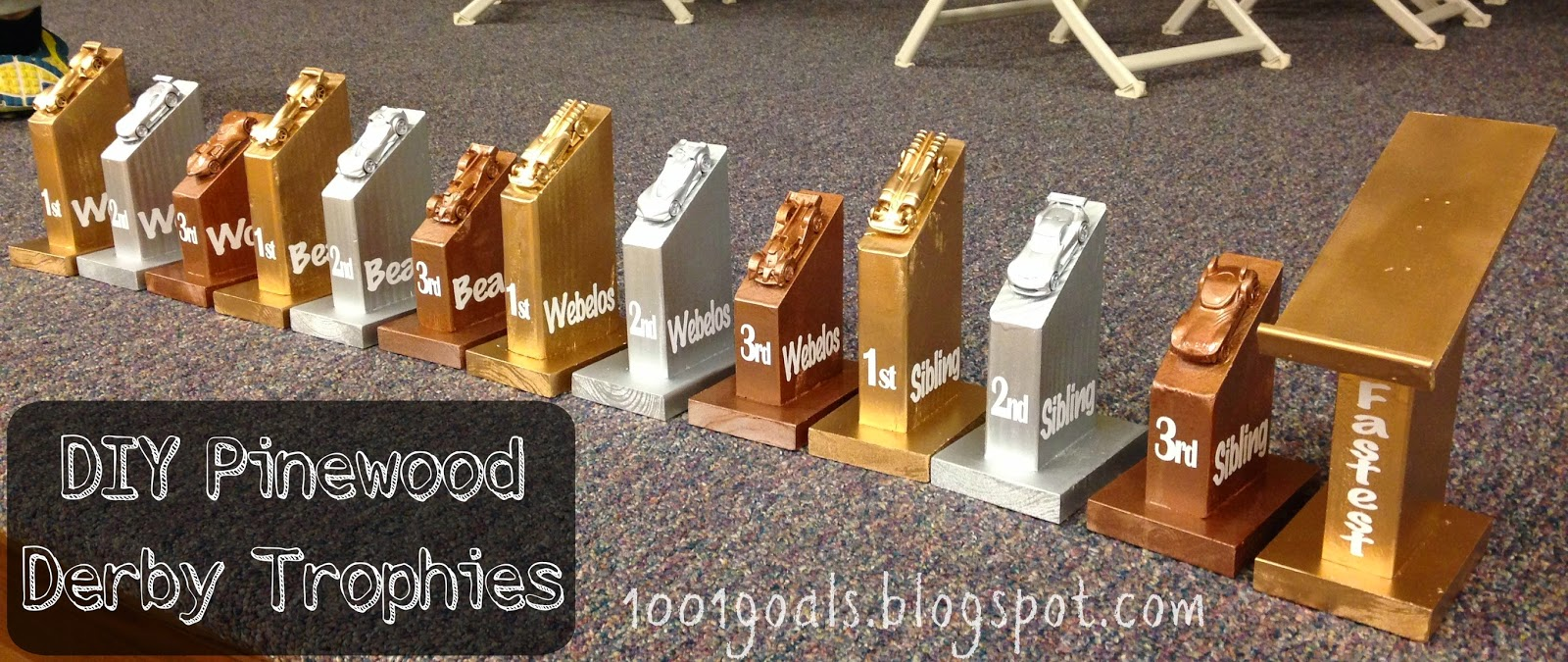 Diy Pinewood Derby Trophies - Diy pinewood derby trophies and awards