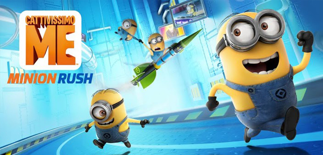 Trucchi Cattivissimo Me Minion Rush iPhone Android banane