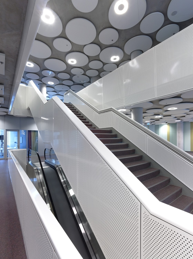 Picture of modern staircase in an office building