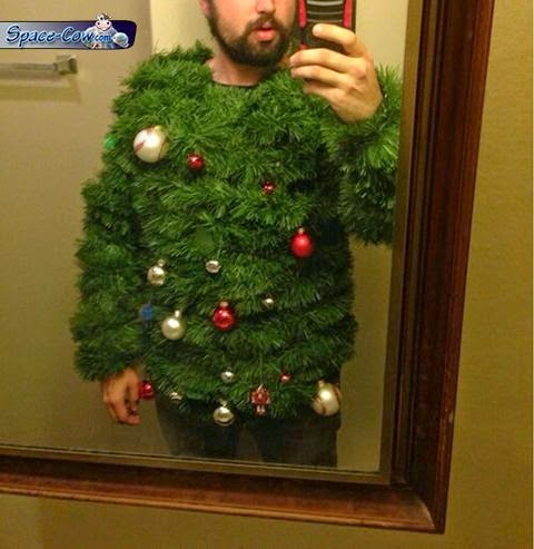 funny Christmas people picture