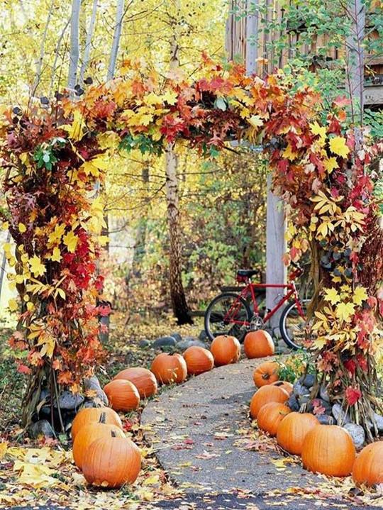 Pumpkin Halloween Wedding Reception Decoration Ideas For Autumn