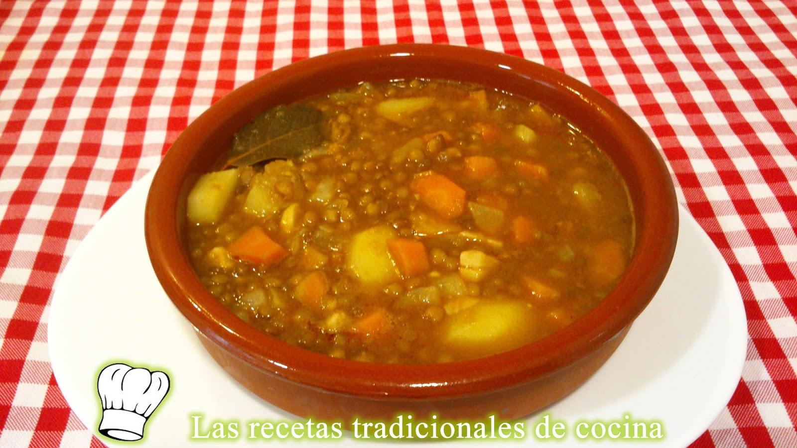 receta de lentejas con verduras recetas de cocina con ForCocinar Lentejas Con Verduras