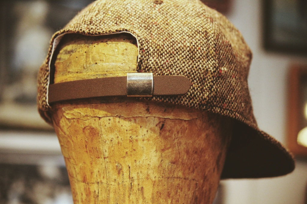 ebbetsfield donegal tweed baseball cap bbcap madeinusa greenangle ga 14fw