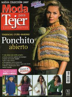 Moda Para Tejer №1 2007