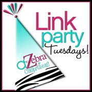 A-Zebra Link Party Tuesdays