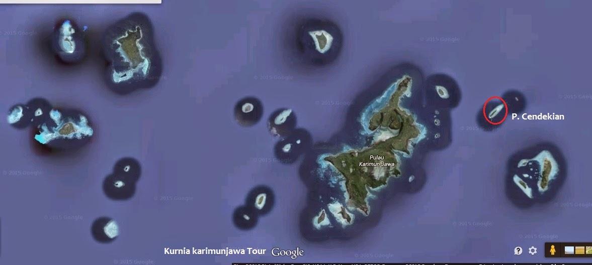 posisi pulau cendekian karimunjawa
