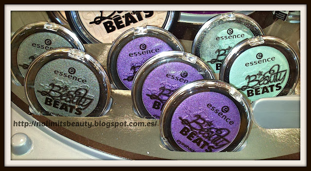 Beauty Beats de Essence - Eyeshadows