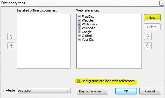 slot online dictionary
