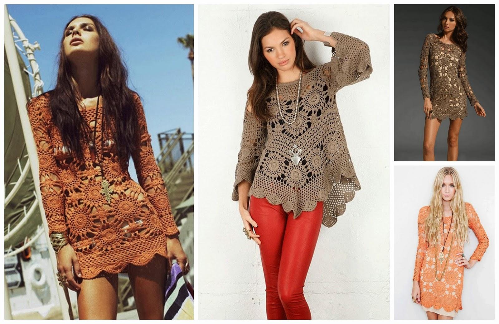 Gehaakte Jurken Crochet Dresses Lindevrouwsweb Bloglovin