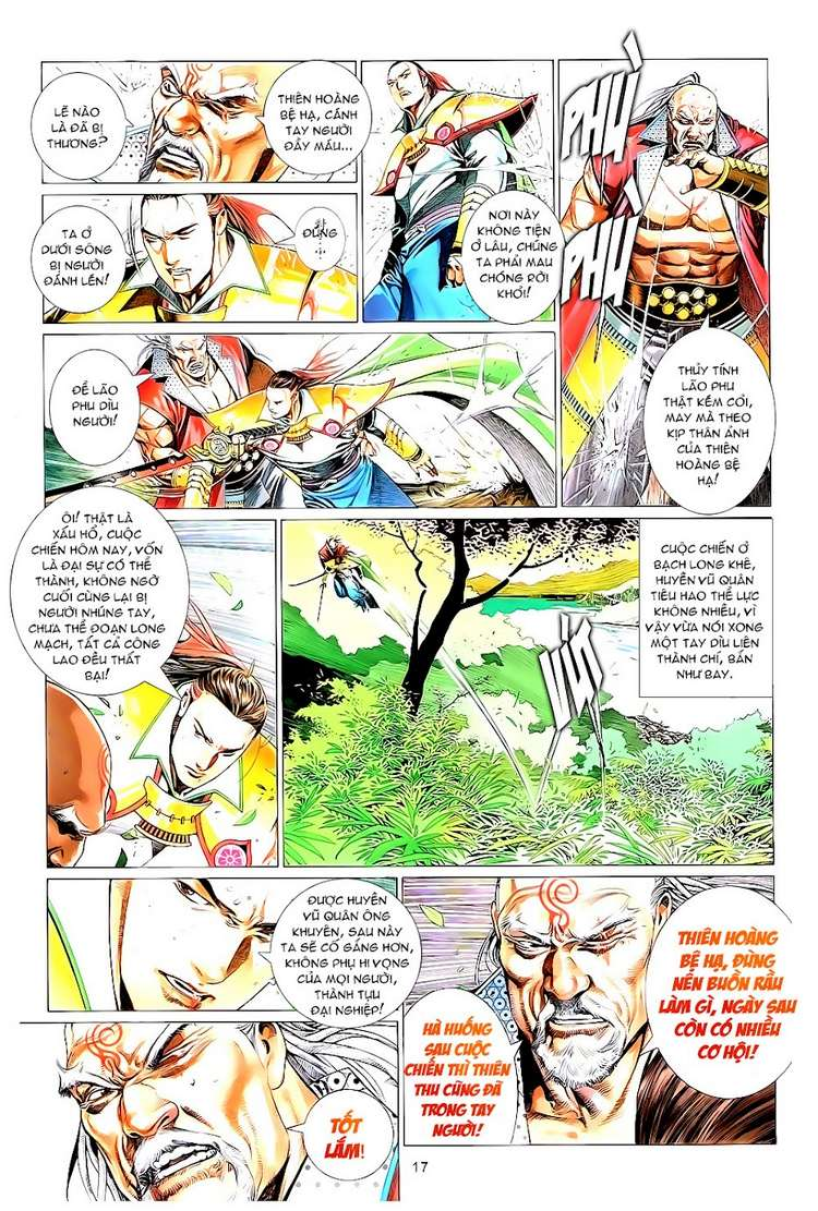 Phong Vân chap 628 Trang 17 - Mangak.info