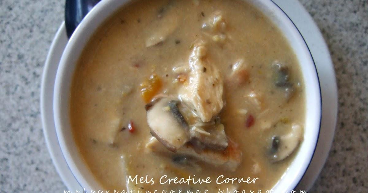 Mel's Creative Corner: Chipotle Chicken Corn & Mushroom ...