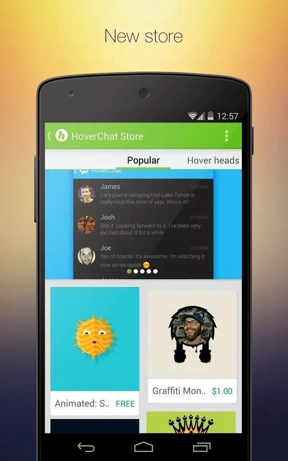 HoverChat (formerly Ninja SMS) v2.2.0