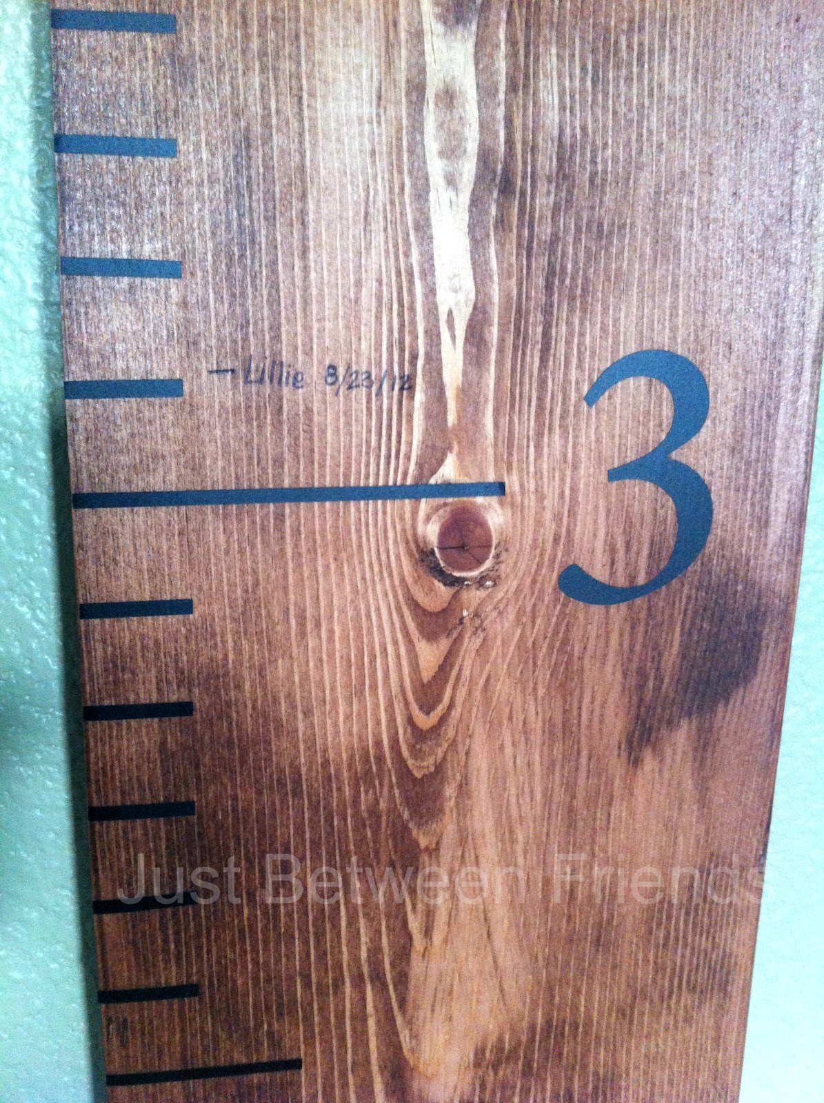 Oversized ruler growth chart just between friends oversized ruler growth chart nvjuhfo Gallery