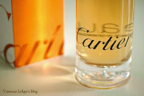 critique avis review parfum cartier eau de cartier essence d'orange fragrance pour homme et pour femme , eau fraîche d'été