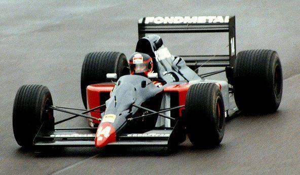 Fondmetal, equipe histórica de Formula 1 de 1991 - by pordentrodosboxes.blogspot.com