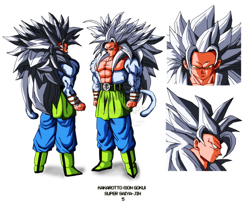 Dragon ball z wallpapers goku super saiyan 5 - Super sayen 10 ...