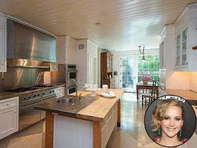 dapur cantik jennifer lawrence