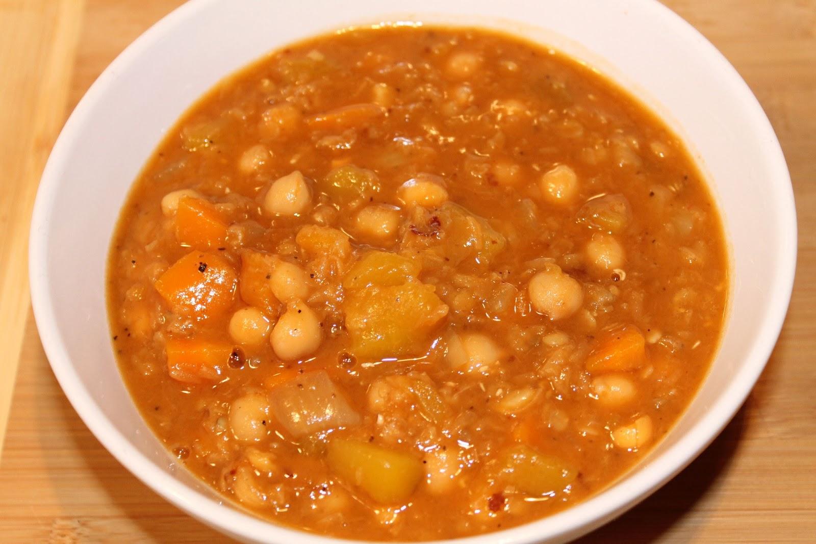 Les douceurs de genny soupe la courge lentilles et - Peut on congeler de la soupe ...