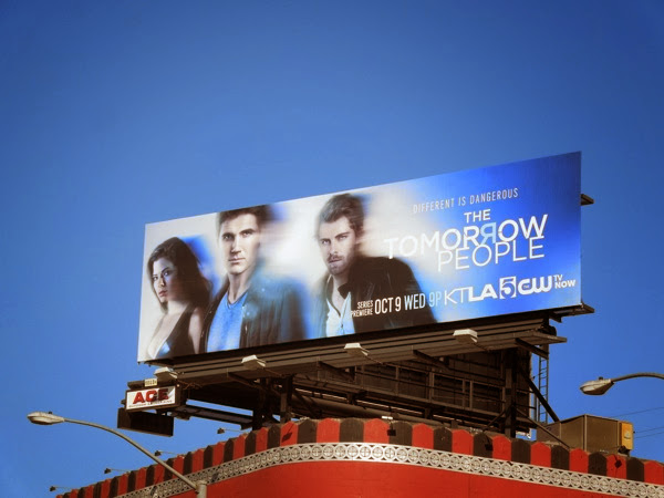 Tomorrow People series premiere billboard