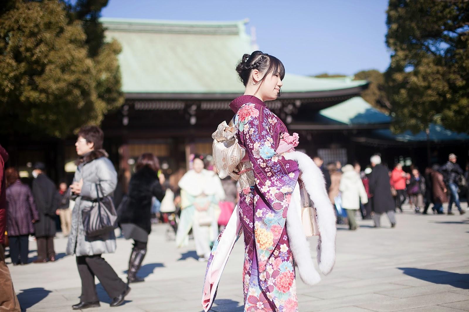 Japonesa en kimono 3