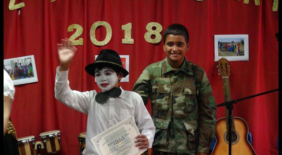 Aniversario de la Escuela 2018.