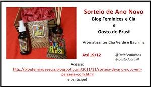 Sorteio de Ano Novo em parceria com a Gosto do Brasil