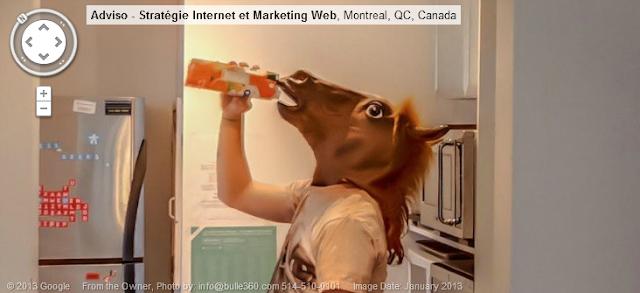 Horseboy Google Street View
