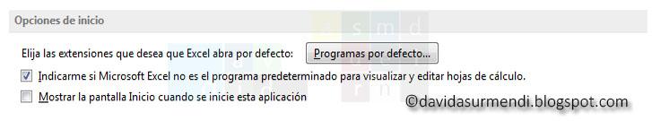 Desactivar la pantalla de inicio.
