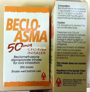 Beclo asma