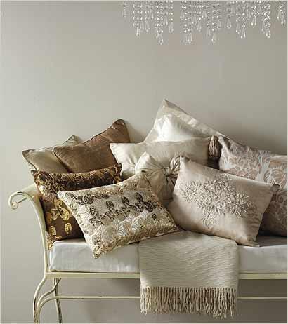 Decovintage decorar con almohadones - Como hacer cojines decorativos ...