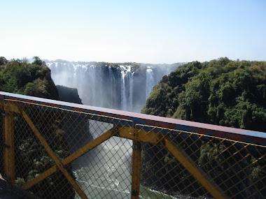Περνώντας από Ζάμπια στη Ζιμπάπουε
