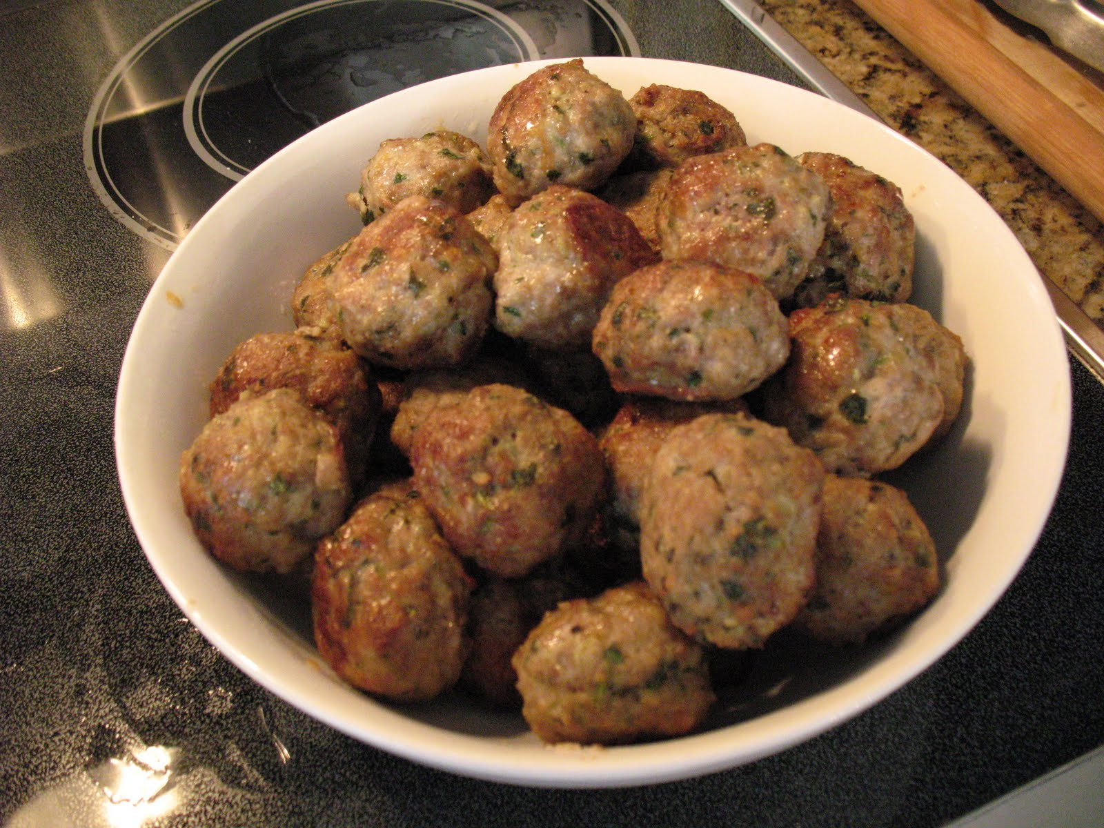 Anna's Table: Tofu 'meatballs' and Real Italian Meatballs