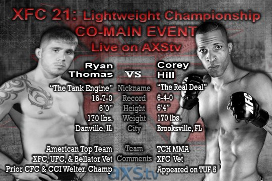 Ryan Thomas vs. Corey Hill