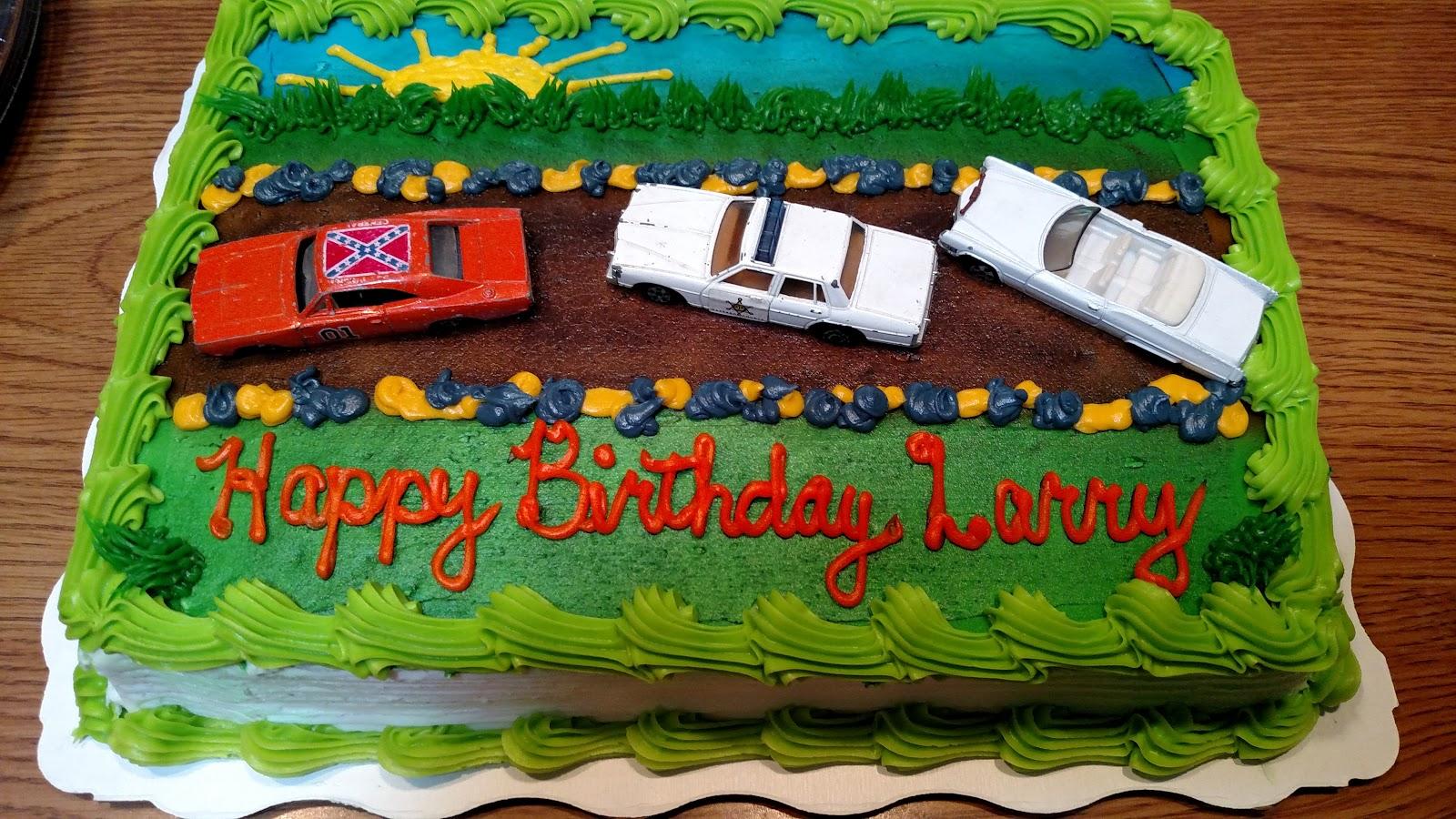 Dukes Of Hazzard Collector Happy Birthday