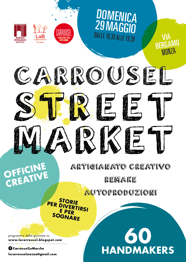Carrousel StreetMarket 29 maggio 2016