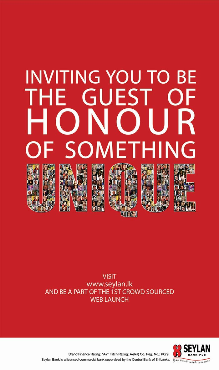 Be our guest of honour for the first ever crowd sourced website launch.