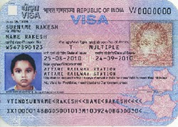 how to cancel indian visa application online